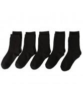 Black 5 pack socks