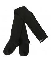 Black wool tights