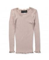 Rose silk LS t-shirt