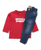 Jeans/LS t-shirt gift box