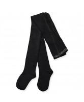 Black bamboo tights
