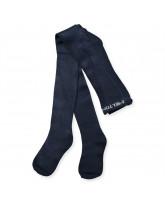 Blue bamboo tights