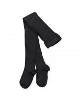 Black rib tights