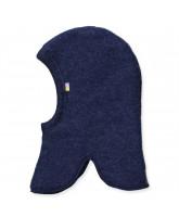 Blue wool fleece kids' balaclava