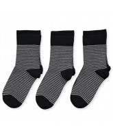 3 pack striped socks