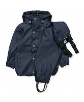 Navy rubber rain set