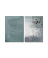 Flying Boat notebook 2 pack - A5