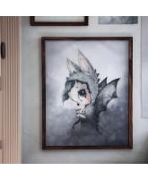 Mr Edward poster - 40x50 cm