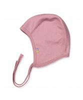 Rose wool baby hat
