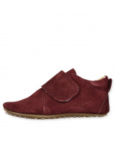 Bordeaux slippers - suede