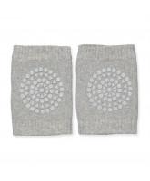 Grey knee pads
