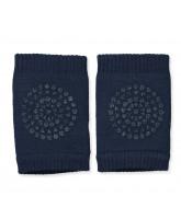 Navy non-slip knee pads