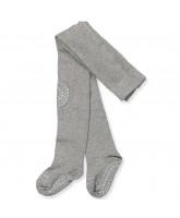 Grey non-slip tights