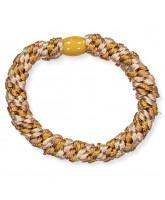 Knekki hair elastic - Light gold