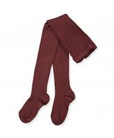 Hazelnut rib tights