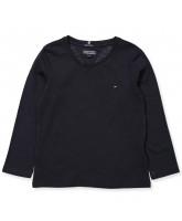 Navy LS t-shirt - girl