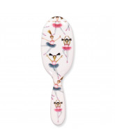 Hairbrush w. Ballerinas - large