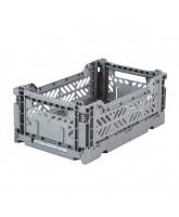 Folding box mini - grey