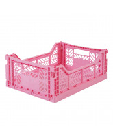 Folding box midi - baby pink