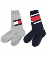 2 pack grey socks