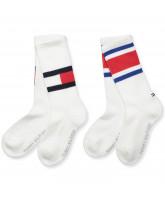 2 pack white socks