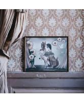 Miss Poppy poster - 50x40 cm