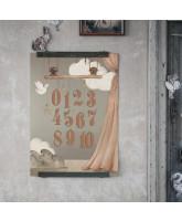 123 poster - 50x70 cm