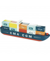 City magnetic container ship