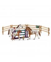 Tournament training set & Appaloosa horse