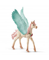 Decorated unicorn Pegasus - foal