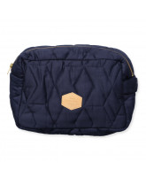 Dark blue toilet bag