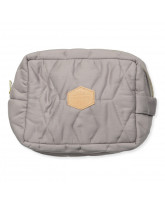Dark grey toilet bag