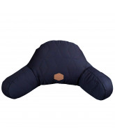 Dark blue pram pillow