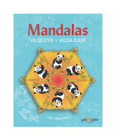 Mandalas - wild animals
