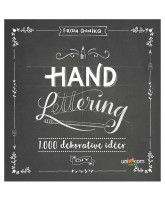 Hand Lettering book with 1000 decorative ideas