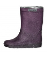 Purple thermo boots