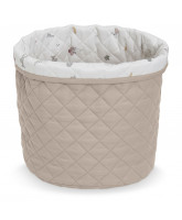 Organic quilted basket