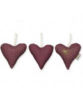 Organic 3 pack hearts