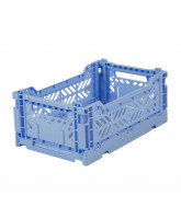 Folding box mini - baby blue