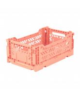 Folding box mini - salmon