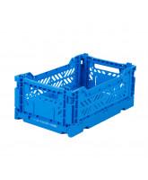 Folding box mini - electric blue
