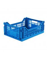 Folding box midi - electric blue