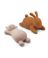 2 pack Vikky bath toys