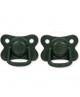 2 pack dark green dummies +6 months
