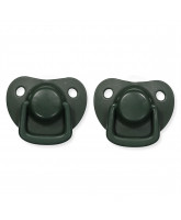 2 pack dark green dummies 0-6 months