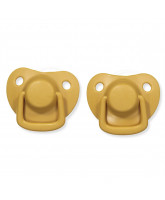 2 pack golden mustard dummies 0-6 months