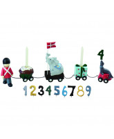 Birthday train with 9 numbers - Soldiers