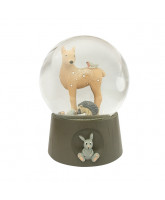 Snowglobe with music - Forest animals