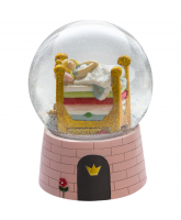 Snowglobe with music - The princess on the pea