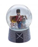 Snowglobe with music - The tin soldier